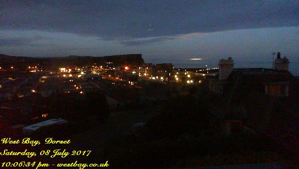 West Bay webcam - West Bay webcam, England, Dorset