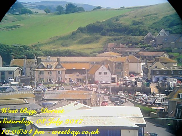 Bridport Harbour Webcam Image