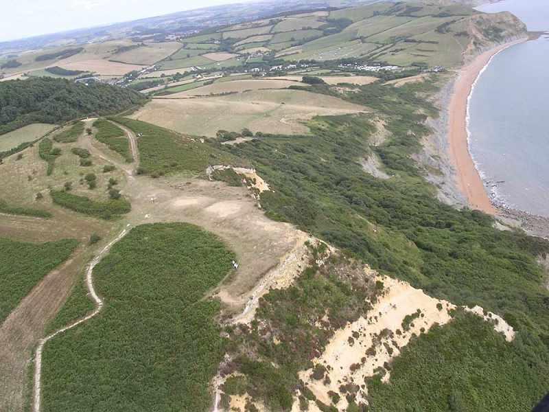 Dorset Aerial Photos Golden Cap