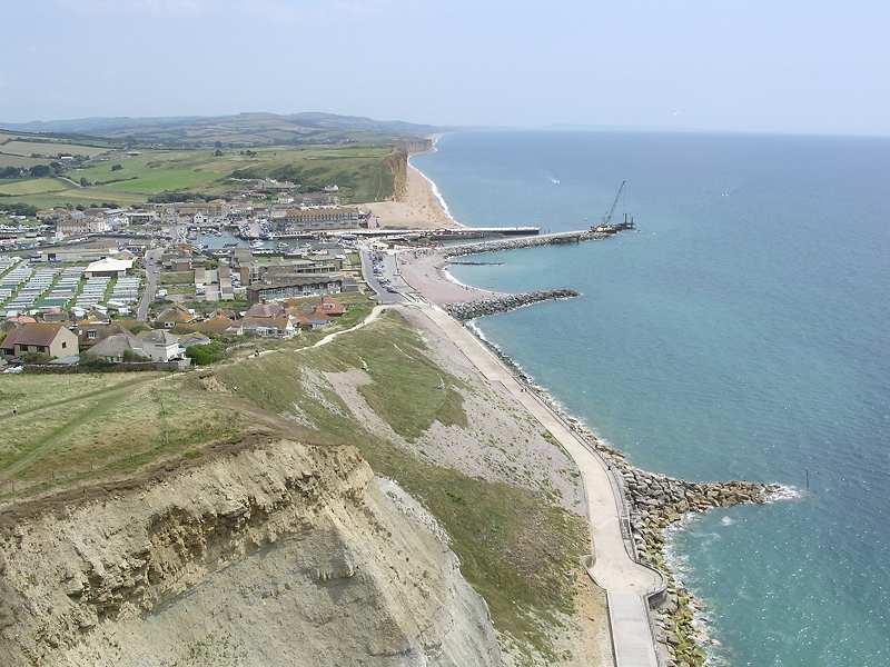 Dorset Aerial Photos - West Bay Esplanade