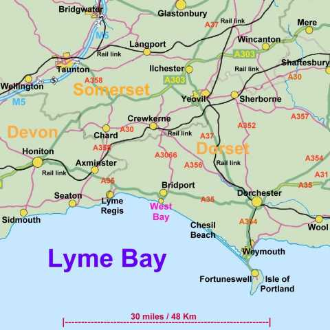 West Bay Map