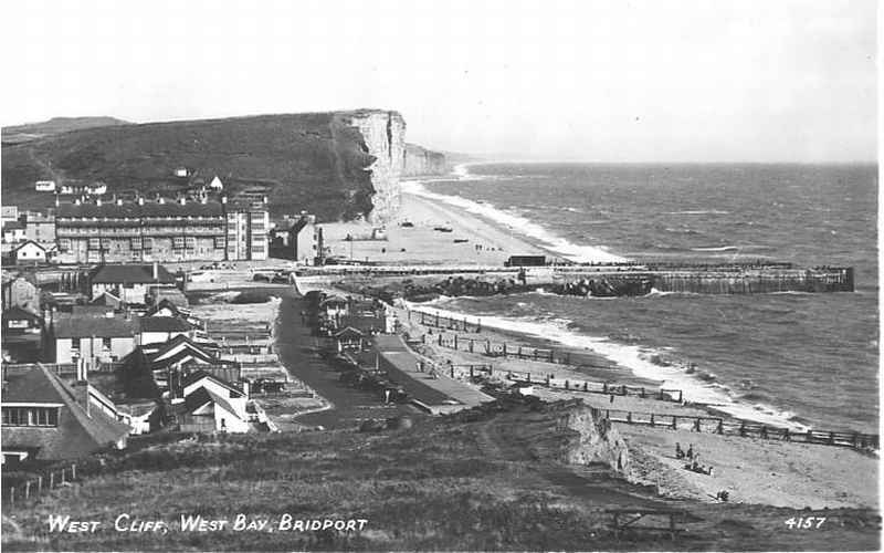 Dorset Photo Heritage - West Bay - Esplanade, 1950's